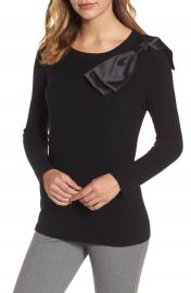 Emerson Rose Bow Shoulder Sweater at Nordstrom