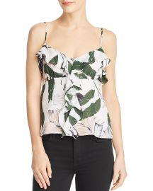 Emilia Silk Camisole Top Milly at Bloomingdales