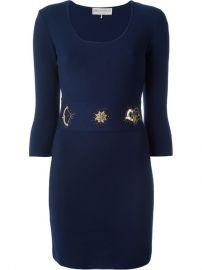 Emilio Pucci Embellished Knit Dress - Twentyone St Johns Wood at Farfetch
