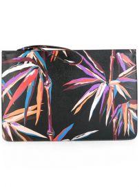 Emilio Pucci Palm Tree Print Clutch at Farfetch