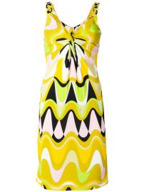 Emilio Pucci Patterned Fitted Dress  1 140 - Buy AW17 Online - Fast Delivery  Price at Farfetch