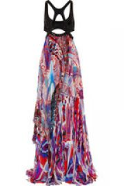 Emilio Pucci Sequin Gown at Net A Porter