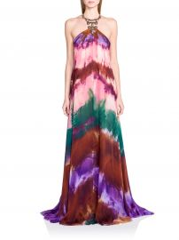 Emilio Pucci Tie Dye Maxi at Saks Fifth Avenue