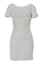 Emilys white knit dress at Stylebop