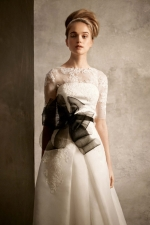 Emma Pillsburys wedding gown at Brides