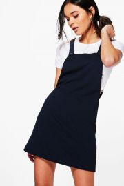 Emma Pinafore Dress at Boohoo