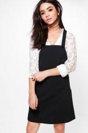 Emma Pinafore Dress at Boohoo