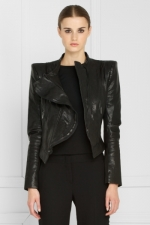 Emmas black jacket at Bcbgmaxazria