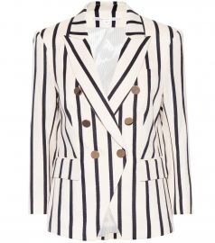 Empire striped dickey blazer at Mytheresa