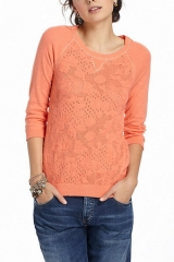 Empyrean Pointelle Sweater at Anthropologie
