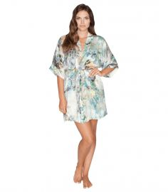 Enchanted Short Robe at Christine