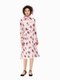 Encore Rose Chiffon Dress at Kate Spade