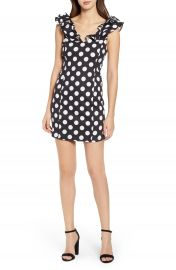 Endless Rose Polka Dot Minidress at Nordstrom