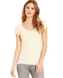 Energie Juniors Short Sleeve V-Neck Tee at Macys