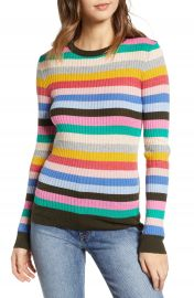English Factory Multicolor Stripe Sweater   Nordstrom at Nordstrom