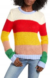 English Factory Multicolor Stripe Sweater at Nordstrom