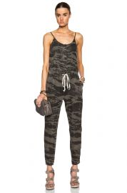 Enza Costa Linen Strappy Jumpsuit at Forward by Elyse Walker