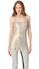 Enza Costa Rib Tunic Tank at Shopbop