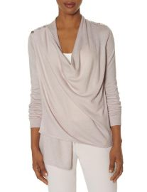Epaulet Cardigan in Blush at The Limited