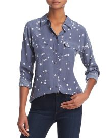 Equipment Slim Signature Silk Star Shirt at Bloomingdales