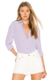 Equipment essential button down at Revolve