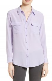 Equipment slim signature blouse at Nordstrom