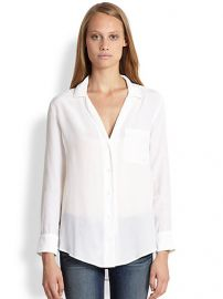 Equipment - Keira PJ Silk Shirt at Saks Fifth Avenue