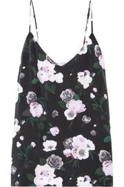 Wornontv Victoria S Floral Cami And Grey Suit On The