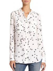 Equipment - Starry Night Slim Signature Shirt at Saks Fifth Avenue