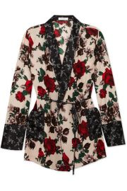 Equipment   Theron floral-print silk robe at Net A Porter