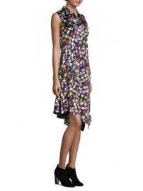 Equipment - Tira Silk Dress at Saks Fifth Avenue