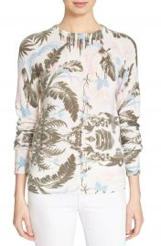 Equipment  Sloan  Floral Print Cashmere Sweater at Nordstrom