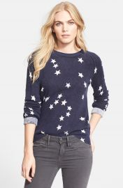 Equipment  Sloan  Star Pattern Cashmere Sweater at Nordstrom