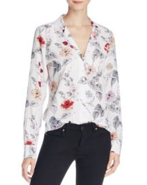 Equipment Adalyn Floral Silk Blouse at Bloomingdales