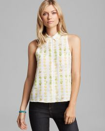 Equipment Blouse Mina Sleeveless Orchard Blossom Print at Bloomingdales