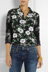 Equipment Floral Signature Blouse at Net A Porter