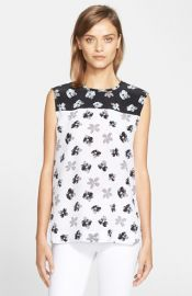 Equipment Kyle Floral Print Silk at Nordstrom