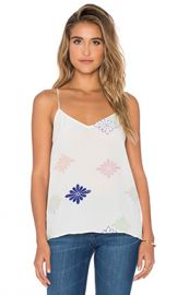 Equipment Layla Floral Cami in Bright White Multi from Revolve com at Revolve
