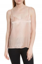 Equipment Layla Heart Print Silk Camisole at Nordstrom