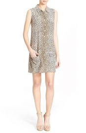 Equipment Lucida Leopard Print Shirtdress at Nordstrom