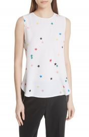 Equipment Lyle Print Silk Top at Nordstrom