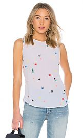 Equipment Lyle Star Tank in White Multi from Revolve com at Revolve