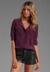 Equipment Lynn blouse at Revolve