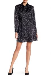 Equipment Natalia Silk Tie Neck Floral Dress at Nordstrom Rack