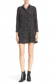 Equipment Natalia Tiered Hem Print Silk Dress at Nordstrom