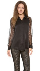 Equipment Quinn with Contrast Blouse at Shopbop