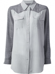 Equipment Raglan Sleeve Shirt - Anita Hass at Farfetch