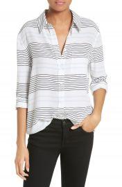 Equipment Reese Stripe Silk Shirt at Nordstrom