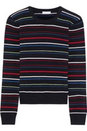 Equipment Shirley Striped Sweater at The Outnet