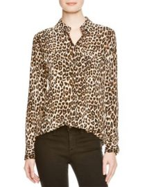 Equipment Shirt - Leopard Print Slim Signature at Bloomingdales